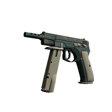CZ75-Auto - Green Plaid